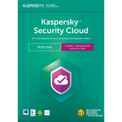Kaspersky Security Cloud Personal Edition 5 Geräte (Code in a Box) Bild0