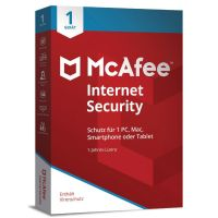 McAfee Internet Security 1 Device (Code in a Box)