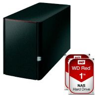 Buffalo LinkStation 220 NAS System 2-Bay 2TB inkl. 2x 1TB WD RED WD10EFRX