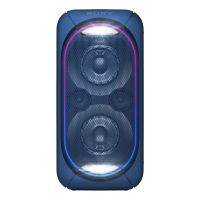 Sony GT-XB60 Bluetooth-Lautsprecher (NFC, Akku) blau Leuchteffekt Party-Chain