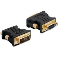 DeLOCK Adapter VGA 15pin Buchse > DVI 24+5 Stecker 65016