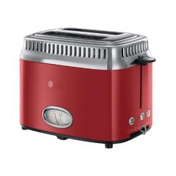 Russell Hobbs 21680-56 Retro Ribbon Red Toaster Bild0