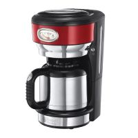 Russell Hobbs 21710-56 Retro Ribbon Red Thermo-Kaffeemaschine