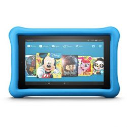 Amazon Fire HD 8 Kids EditionTablet WiFi 32 GB Kid-Proof Case blau Bild0