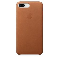 Apple Original iPhone 8 / 7 Plus Leder Case-Sattelbraun Bild0