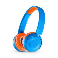 JBL JR300BT - On Ear-Bluetooth Kopfhörer für Kinder blau/orange