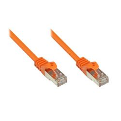 Good Connections 0,15m RNS Patchkabel CAT5E SF/UTP PVC orange Bild0