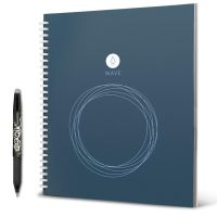 Rocketbook Wave Standard digitaler wiederverwendbarer Schreibblock ink. Stift