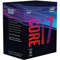 Intel Core i7-8700K 6x3,7(Boost 4,7) GHz 12MB-L3 Cache Sockel 1151 (Coffee Lake)