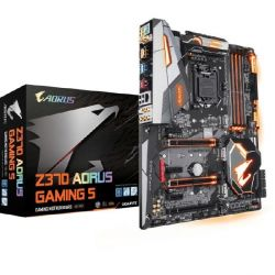 Gigabyte AORUS Z370 Gaming 5 ATX Mainboard 1151 (Coffee Lake) Bild0