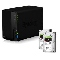 Synology DS218+ NAS System 2-Bay 4TB inkl. 2x 2TB Seagate ST2000VN004