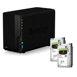 Synology DS218+ NAS System 2-Bay 8TB inkl. 2x 4TB Seagate ST4000VN008 Bild0