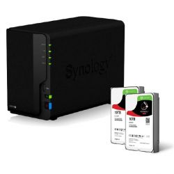 Synology DS218+ NAS System 2-Bay 20TB inkl. 2x 10TB Seagate ST10000VN0004 Bild0