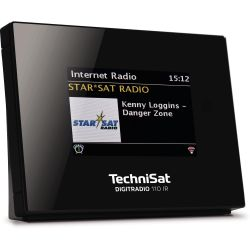 TechniSat DIGITRADIO 110 IR, blk, DAB+/UKW/Internetradio, Multiroom-Streaming Bild0