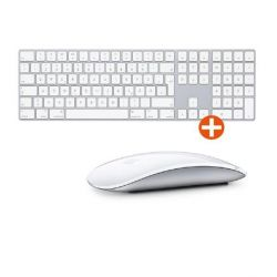 Apple Magic Keyboard mit Ziffernblock (US Layout) + Magic Mouse 2 Bild0