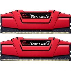 16GB (2x8GB) G.Skill RipJaws V Rot DDR4-3000 CL15 (15-15-15-35) RAM DIMM Kit Bild0