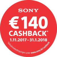 Sony Winter Cashback*
