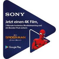 Sony 4K Android TV™ Google Play Promotion*