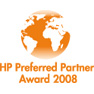 HP Preferred Partner Award 2008