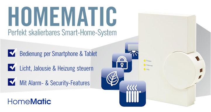 smart home system homematic g nstig online kaufen. Black Bedroom Furniture Sets. Home Design Ideas