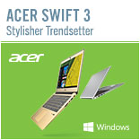 Zu den Acer Swift 3 Notebooks