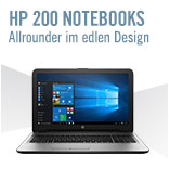 Zu den HP 200 Notebooks